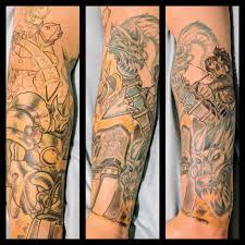Map Tattoos Download Tattoo Sleeve Progression Danielhuscroft Com