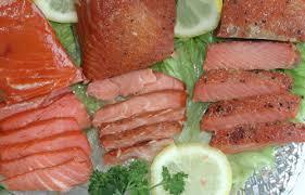 salmon gift basket smoked salmon mix of flavors 2 5lbs ed s kasilof seafoods