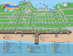 Map New Jersey Map Seaside Heights New Jersey Official Tourism Information Site