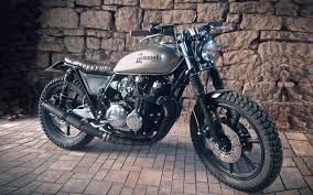 kawasaki kz750 brat style motorcycles bratstyle motos