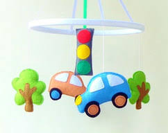 boy nursery mobile baby crib mobile baby mobile by zootoys on zibbet