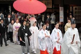 mariage traditionnel le mariage japonais