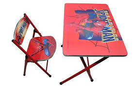 Bedroom Lounge Chairs Uk Kids Childrens Spiderman Table U0026 Chair Furniture Set Portable