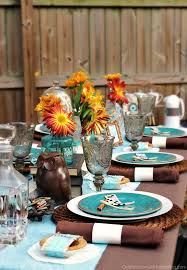Fall Table Settings Fall Eclectic Table Setting Ideas Fall Table Settings