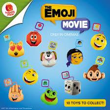 collect all mcdo emoji movie happy meal toys pskmc