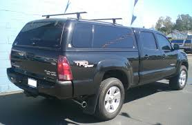 toyota tacoma shell for sale socal truck accessories