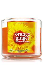 amazon com bath u0026 body works aromatherapy 3 wick candle in orange