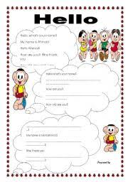 english teaching worksheets greetings