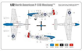 airfix a01004a north american p 51d mustang 1 72