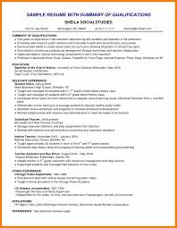 Skills Summary Resume Sample by Sample Resume Profile Summary Sample Resume 2017 Sample Resume