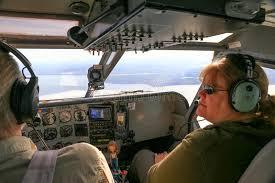 Alaska pilot travel centers images Alaska bush plane cockpit pilot and passenger editorial photo jpg