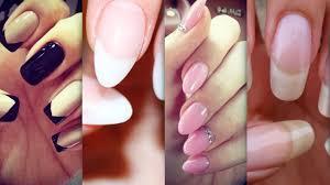 acrylic nails shapes beautiful and elegant nails u2022 nail designs
