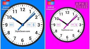 analog clock widgets for android laser analog clock free for android free at apk here