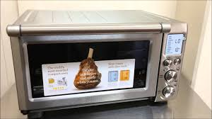 Breville 800 Toaster Oven Breville Bov845bss Smart Oven Youtube