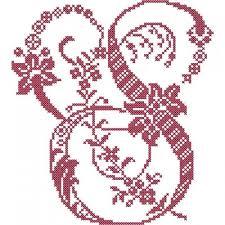 276 best abc images on cross stitch alphabet