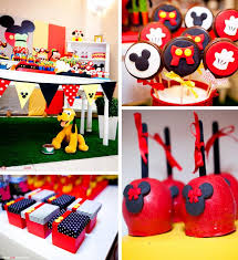 mickey mouse party favors mickey mouse themed birthday party design idea and decors