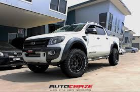 ford ranger road tyres ford ranger wheels fuel trophy rims autocraze