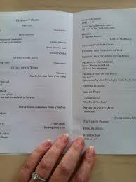 catholic wedding booklet free catholic wedding program template