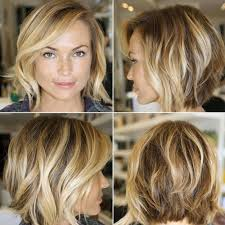 2015 angeled short wedge hair chic layered bob haircut with side swept bangs hairstyles weekly