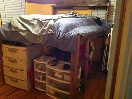 How To Make A Loft Bed Frame Diy King Size Loft Bed Guide King Size Loft Bed Guide