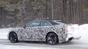 2018 audi rs5 coupe gets spied ahead 2017 geneva motor show