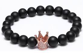 fashion jewelry charm bracelet images New style atolyewolf fashion bracelets men black silver crown jpg