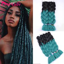 afro twist braid premium synthetic hairstyles for women over 50 1pc ombre kanekalon braiding hair style ombre kanekalon synthetic