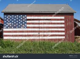 How To Paint American Flag American Flag Painted On Front Old Stock Photo 111355199