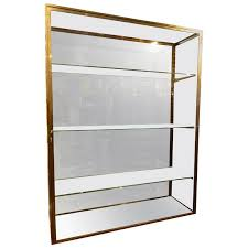glass cabinet for sale early 20th century brass vitrine glass cabinet for sale at 1stdibs