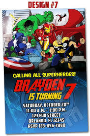 superhero birthday party invitations wblqual com