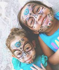 decorate your catrina s with a sugar skull temporary