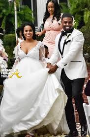 porsha williams wedding just married r l huggar of next lena chenier host lavish
