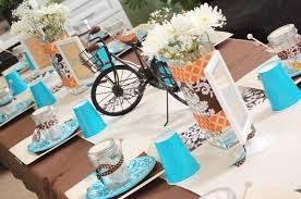 themed wedding shower bicycle built for two bridal shower guest feature