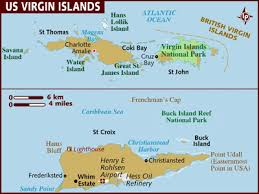 st islands map map of islands