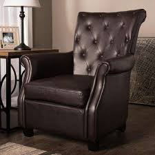 Brown Accent Chair Accent Chairs Chairs The Home Depot