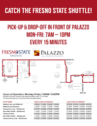 Fresno State Parking Map by Palazzo At Campus Pointe Fresno State Student Housing