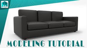 maya modeling tutorial l sofa modeling in maya youtube