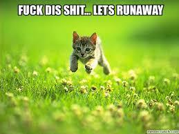 Lets Fuck Memes - fuck dis shit lets runaway