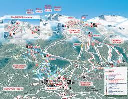 Colorado Ski Resort Map Borovets Ski Trail Map Free Download
