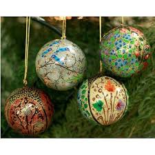 green ornaments for less overstock