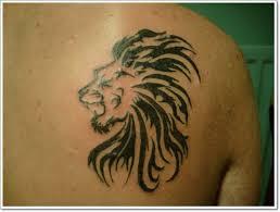 75 extreme lion shoulder tattoos
