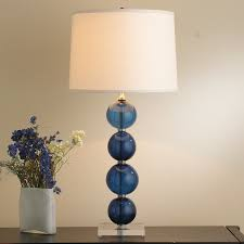 Glass Lamp Shades For Table Lamps Recycled Glass Ball Table Lamp Shades Of Light