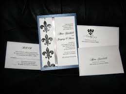 Easy Wedding Programs Fleur De Lis Wedding Invitations The Wedding Specialiststhe