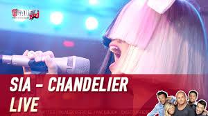 chandelier live sia chandelier live c u0027cauet sur nrj vidéo dailymotion