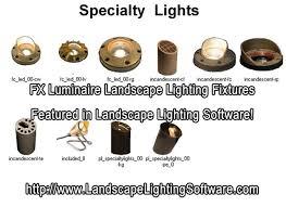 Luminaire Landscape Lighting Fx Luminaire Landscape Lighting Software