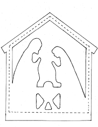 pieces by polly star and nativity appliques nativity in the