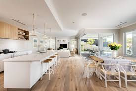 Display Home Interiors Polytec Kitchen Doors And Panels Natural Oak Ravine Modern