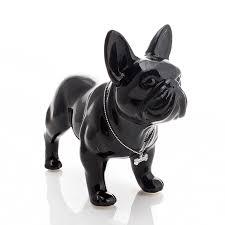 ceramic bulldog statue home decor crafts room