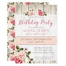 mothers birthday invitations u0026 announcements zazzle