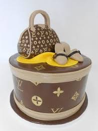 50th birthday cake with louis vuitton bag arlene pinterest